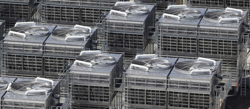 Cooling equipment in NSA's Bluffdale center
