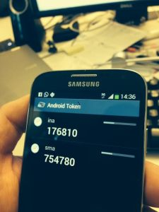 Android OTP Token